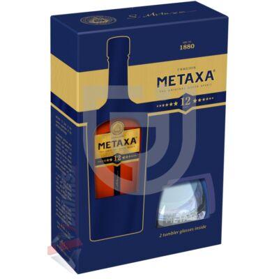 Metaxa 12* (DD+Pohár) [0,7L|40%]