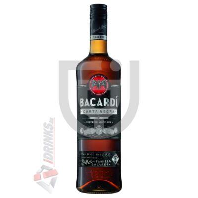 Bacardi Carta Negra /Black/ Rum [0,7L 37,5%]