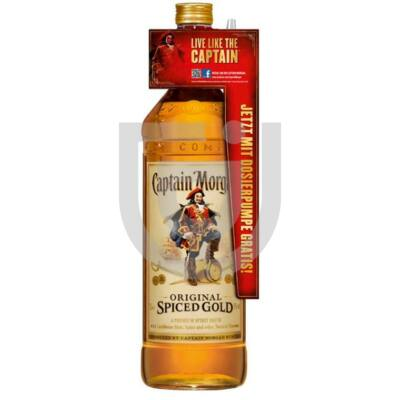 Captain Morgan Spiced Gold (+Ajándék pumpa) [3L 35%]