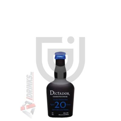 Dictador 20 Years Rum Mini [0,05L|40%]