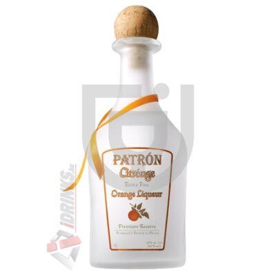 Patron Citrónge /Narancs/ Likőr [0,7L|40%]