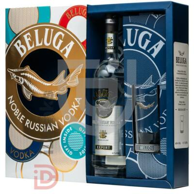 Beluga Vodka (DD+Pohár) [0,7L|40%]