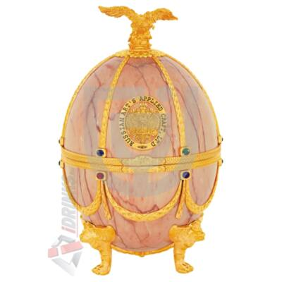 """Imperial Collection Faberge Egg  """"Onyx disagne"""" Vodka [0,7L