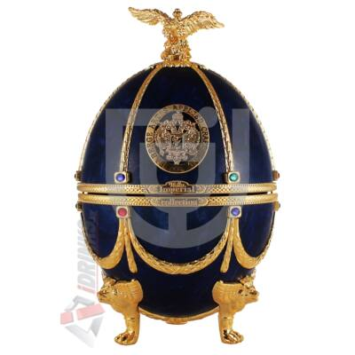 """Imperial Collection Faberge Egg  """"Sapphire disagne"""" Vodka [0,7L