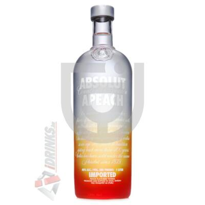 Absolut Apeach /Őszibarack/ Vodka [0,7L 40%]