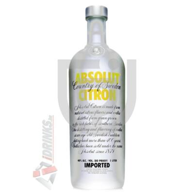 Absolut Citron /Citrom/ Vodka [1L|40%]
