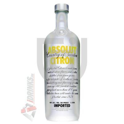 Absolut Citron /Citrom/ Vodka [0,7L|40%]
