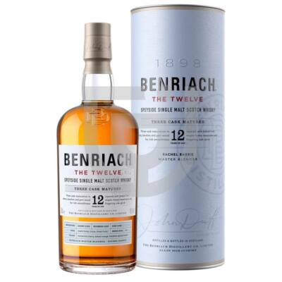 BenRiach 12 Years Whisky [0,7L 46%]