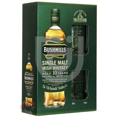 Bushmills 10 Years Whiskey (DD+2 Pohár) [0,7L 40%]