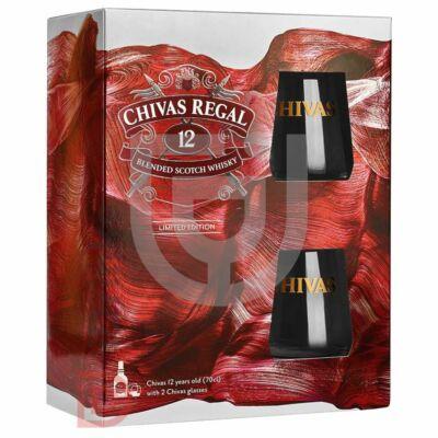 Chivas Regal 12 Years Whisky (DD+2 Pohár) [0,7L|40%]