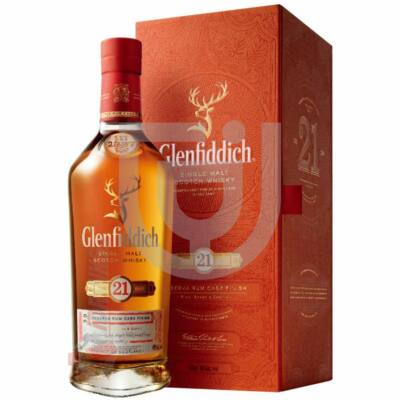 Glenfiddich 21 Years Whisky Reserva Rum Cask Finish [0,7L 40%]