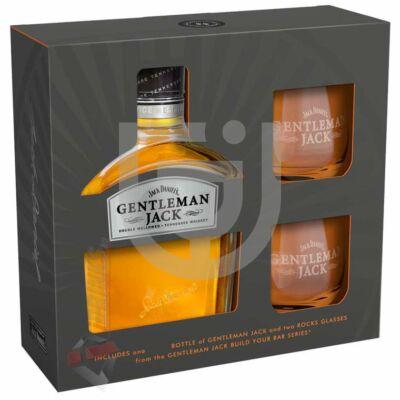 Jack Daniels Gentleman Jack Whisky (DD+2 Pohár) [0,7L|40%]