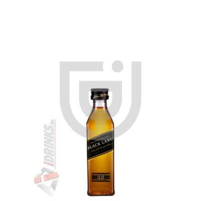 Johnnie Walker Black Label Whisky Mini [0,05L|40%]