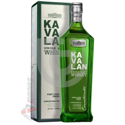 Kavalan Concertmaster Port Cask Whisky [0,7L 40%]
