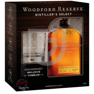 Woodford Reserve Whiskey (DD+Pohár) [0,7L 43,2%]