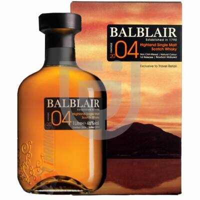 Balblair 2004 Vintage Whisky [1L 46%]