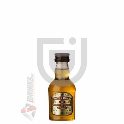 Chivas Regal 12 Years Whisky Mini [0,05L 40%]