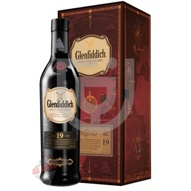 Glenfiddich 19 Years Age Of Discovery Red Wine Cask Whisky